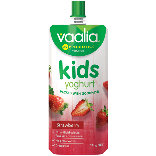 26934f463f Vaalia Kids Strawberry 140g