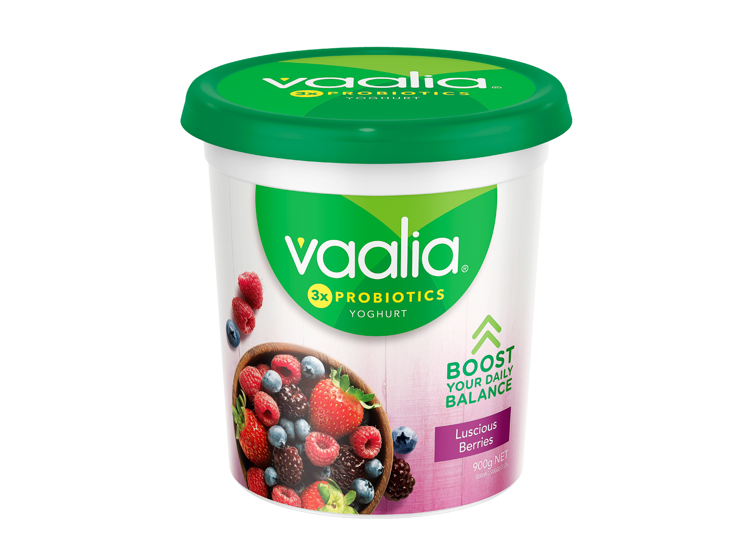 Vaalia Luscious Berries 900g