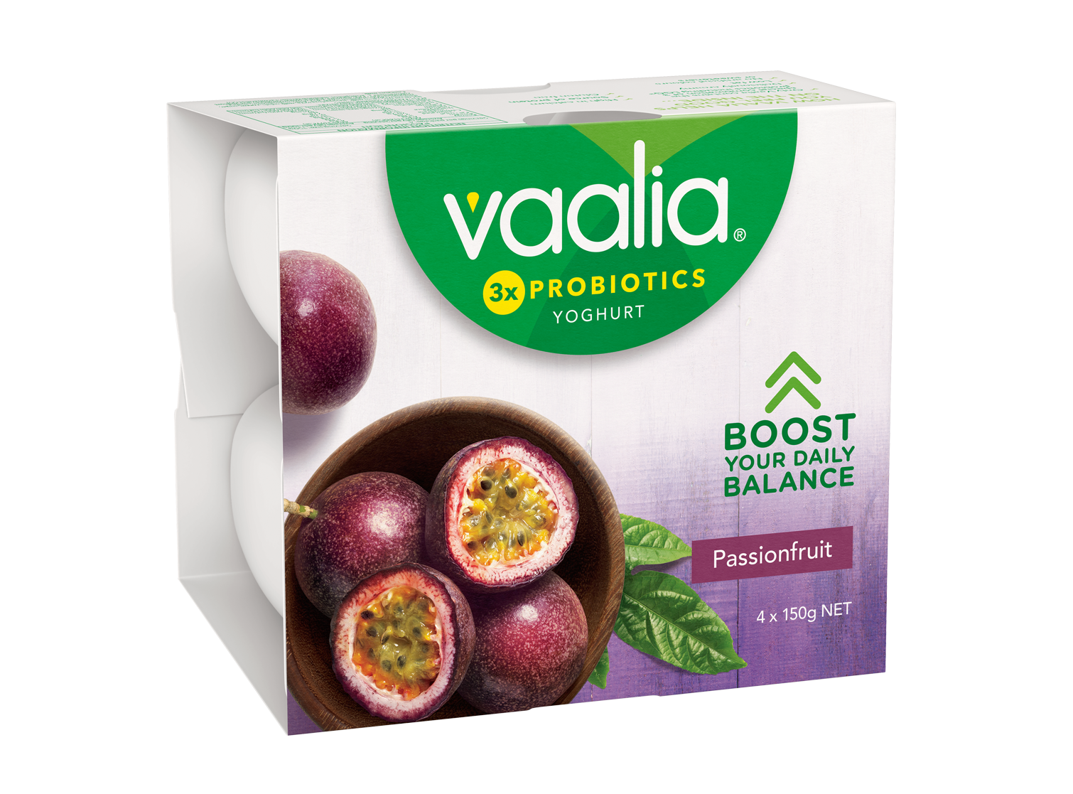 Vaalia Passionfruit 4x150g