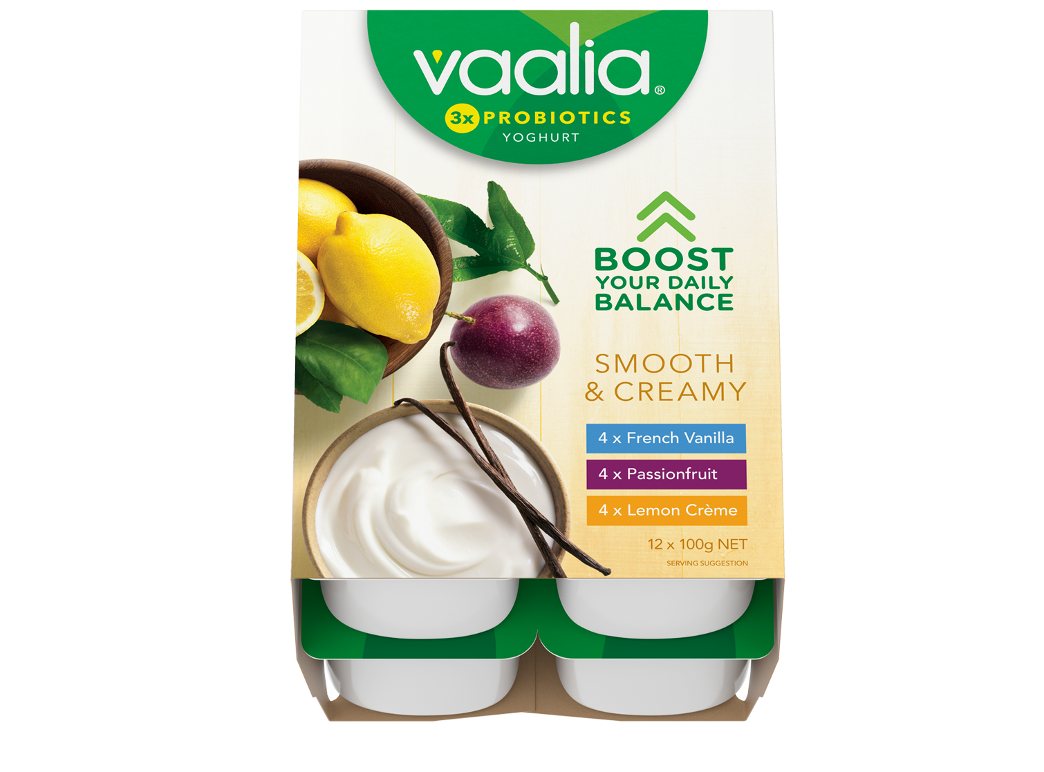 Vaalia Smooth Creamy 12 pack - featured image
