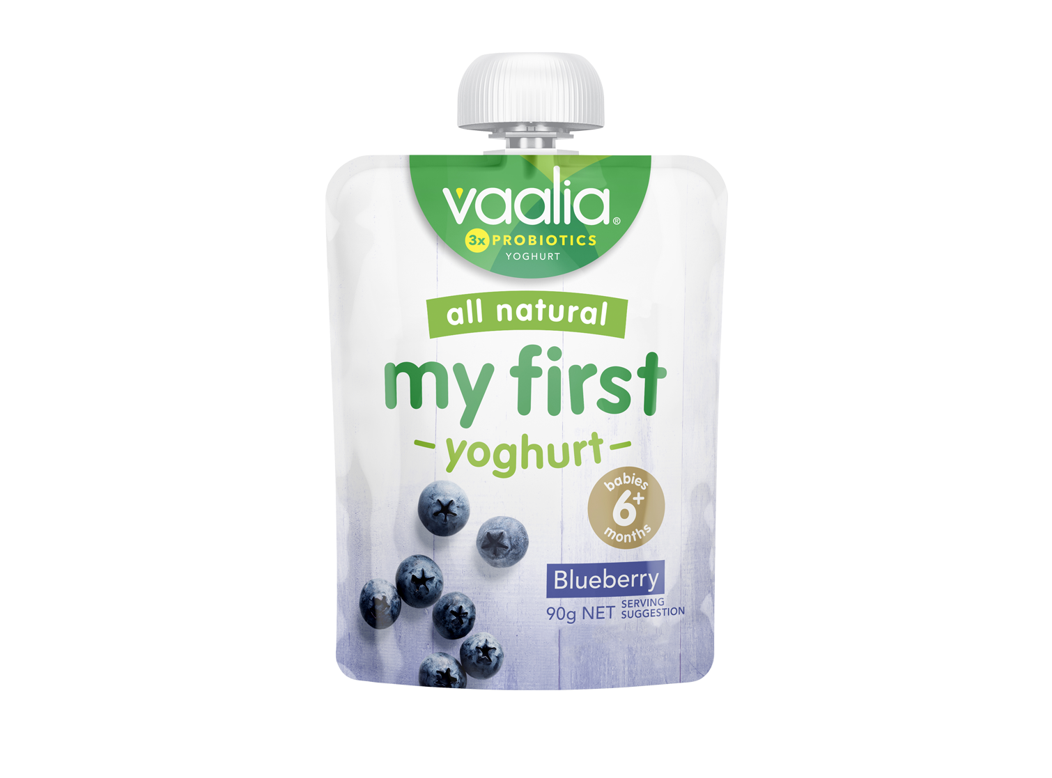 Vaalia My First - Blueberry 90g