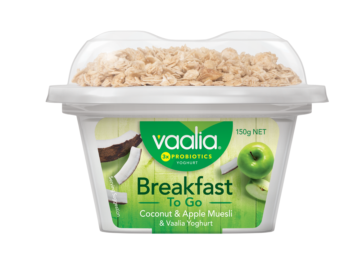 Vaalia Breakfast To Go - Coconut Apple Muesli v3